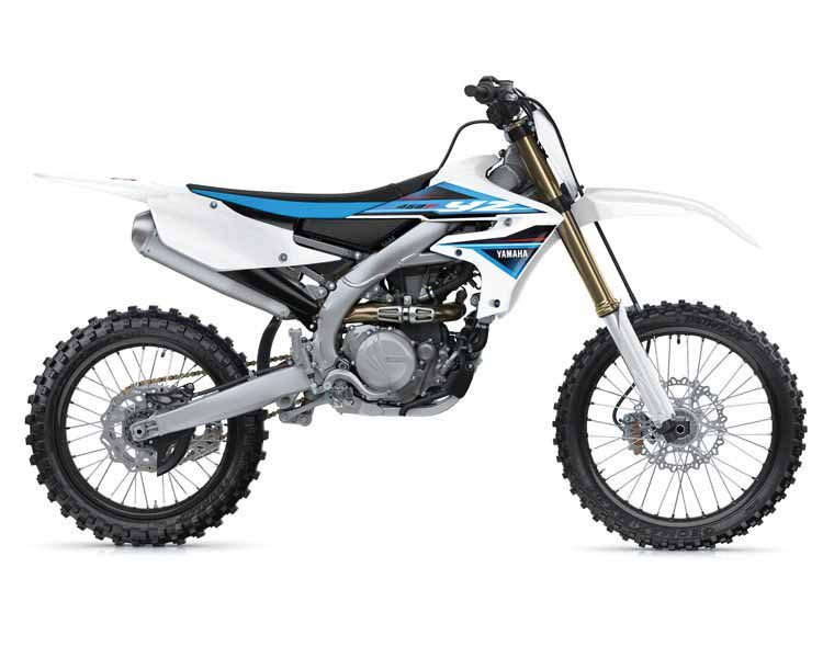 YZ450F 2019 COMP WHITE