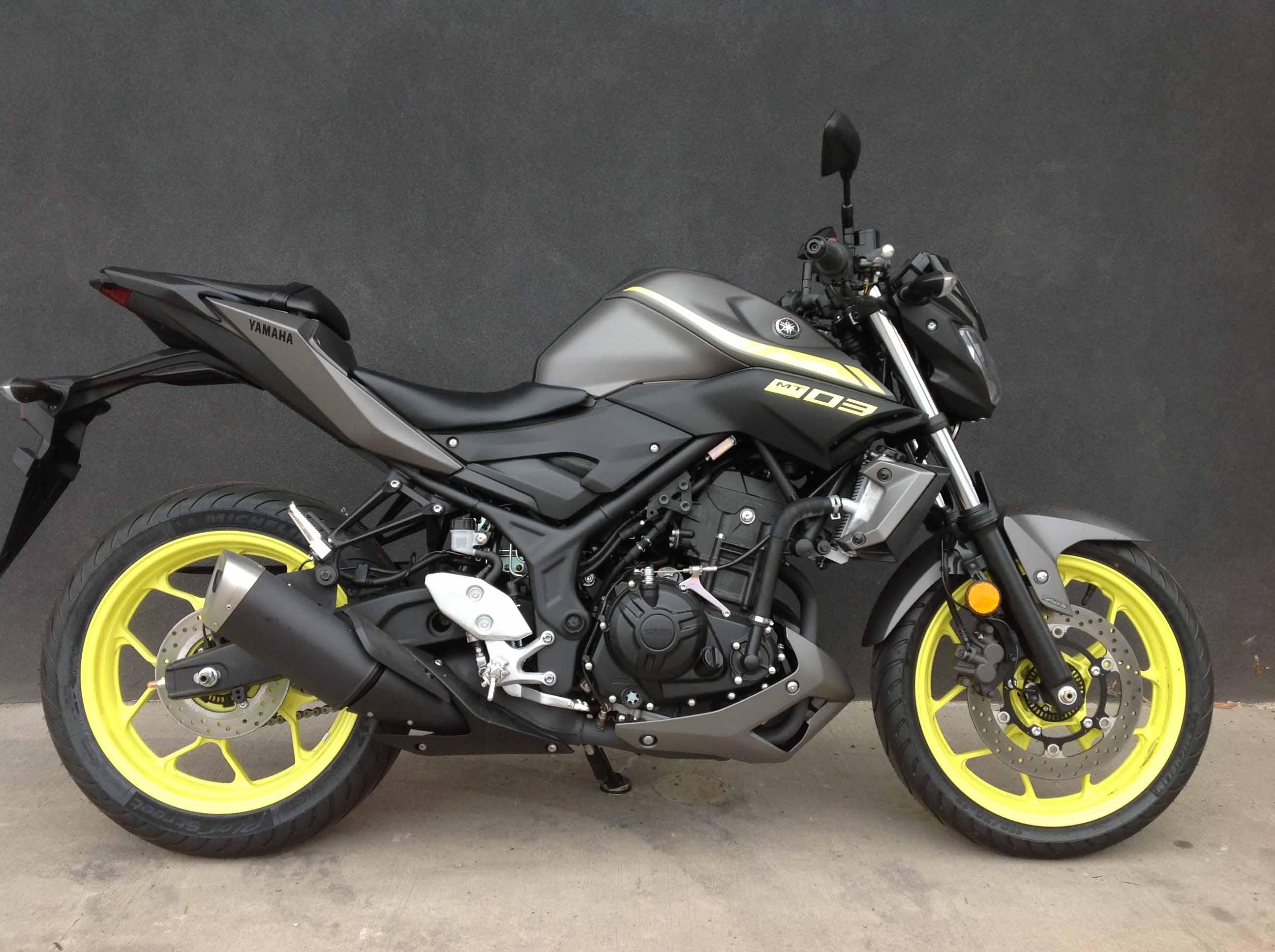 מפוארת 2018 Yamaha MT-03 ABS 321 (MT03LA) - Excite Motorsports IE-72